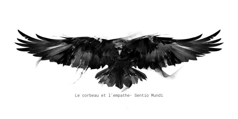 texte empathe et corbeau